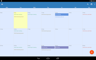 Screenshot of Touch Calendar - SALE