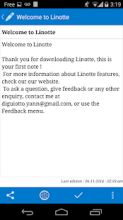 Linotte - screenshot