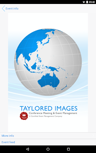 Taylored Images Events - screenshot