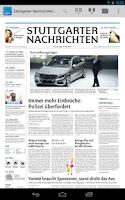 Screenshot of Stuttgarter Nachrichten ePaper