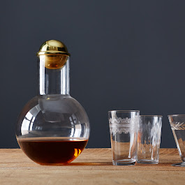 Hand-Blown Decanter