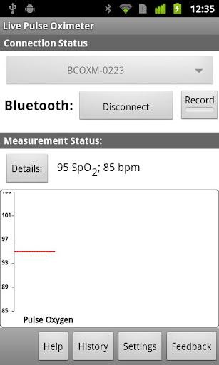SimpleEye Live Pulse Oximeter