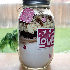 Cranberry White Chocolate Quick Bread Mix in a Jar