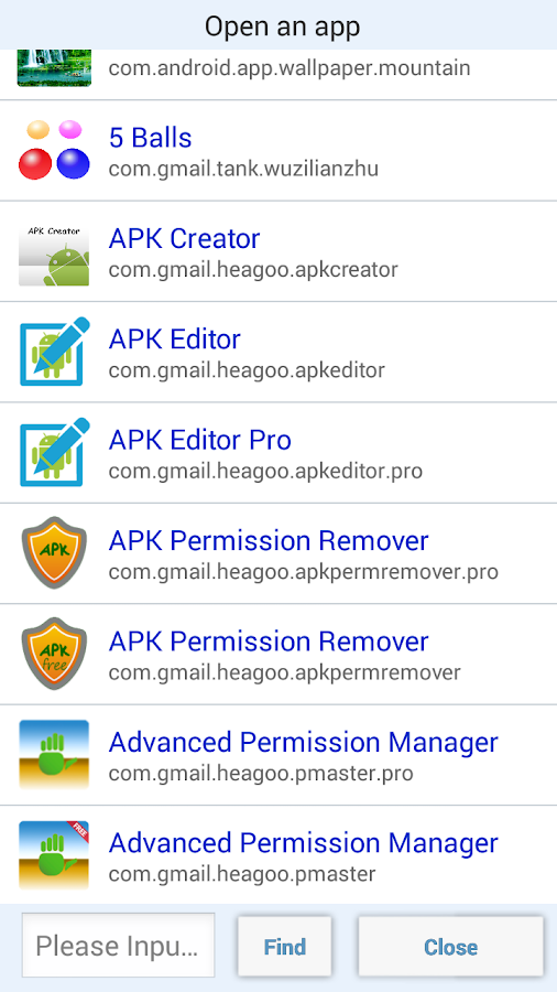 APK Permission Remover (Pro) Screenshot 1