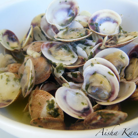 Clams with Chardonnay