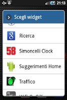 Screenshot of Simoncelli Clock Widget