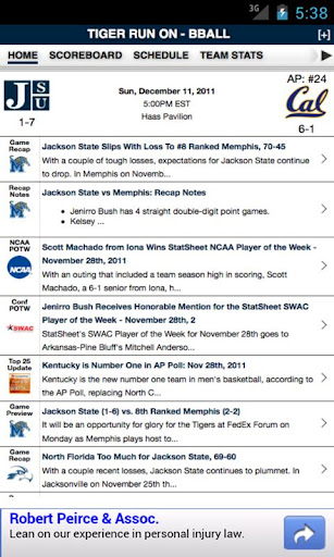 JSU Football Basketball