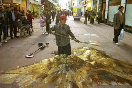 Gold Hunting Art