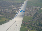 Arriving at Schiphol airport