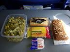 KLM cold meal