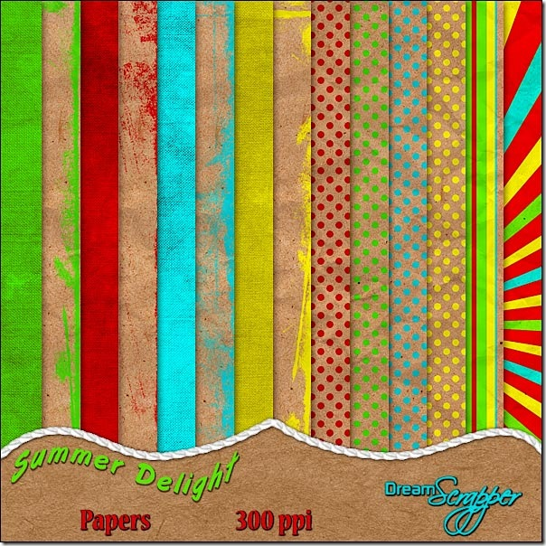 Summer Delight Papers