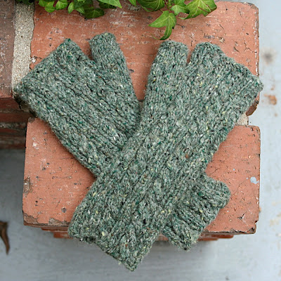 earthy green handwarmers