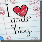 I Love Your Blog Award - received from TerriRainer at http://terrirainer.blogspot.com and from Mrs. B. Roth at http://mrsbroth.blogspot.com/