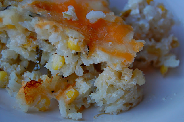 Savory Spicy Sweet: Mexican Sour Cream Rice