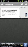 Screenshot of LiveConcert