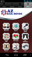 Screenshot of AZ Bail Bonds