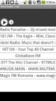 Screenshot of Rock Radio Free