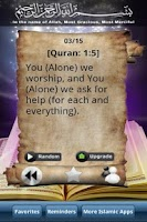 Screenshot of Quran Verse of the Day Free