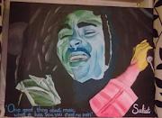 Bob Marley aqua