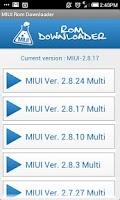 Screenshot of MIUI Rom Downloader