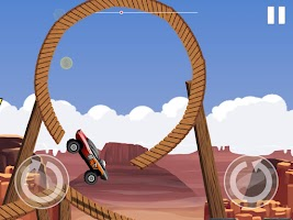 Screenshot of Monster Car Stunts