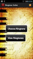 Screenshot of Ringtone Setter