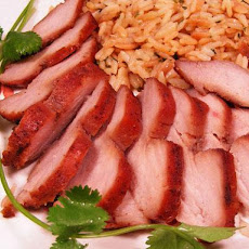Barbecued Red Roast Pork Tenderloin