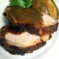 Balsamic Roasted Pork Loin