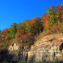 Kentucky Fall and Geology by Paul Mays - Landscapes Mountains & Hills (  )