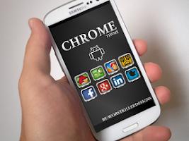 Screenshot of CHROME APEX NOVA GO ADW THEME