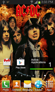 ACDC HTH Live Wallpaper - screenshot