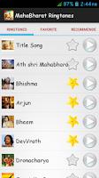 Screenshot of MahaBharat Ringtones