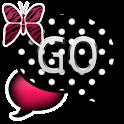 GO SMS THEME/PnkPolkaDot icon