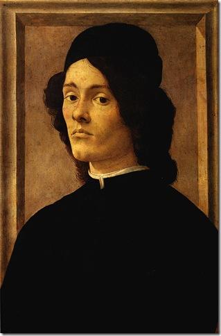 Alessandro FILIPEPI dit BOTTICELLI - Portrait de jeune homme
