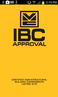 IBC Approval - screenshot