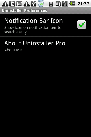 uninstaller-free for android screenshot