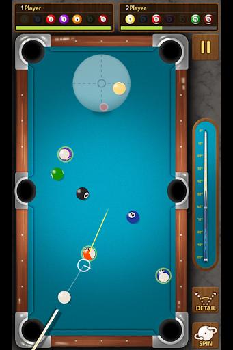 The king of Pool billiards - screenshot