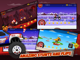 Screenshot of Furious Hill Climb