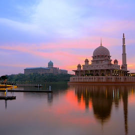 Sunrise at Masjid Putra by Mohd Siberi Mohd Yusof - Buildings & Architecture Public & Historical