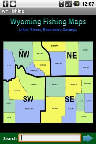 Wyoming Fishing Maps - 11.8K