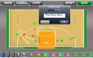 Screenshot of CoachMe Basketball Edition Pro