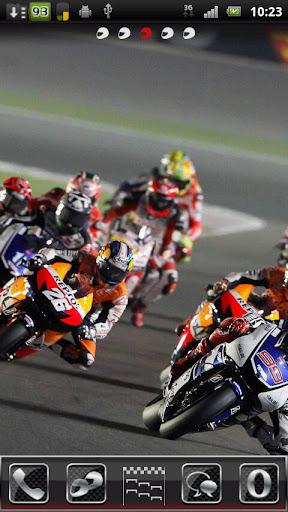 Motorbike Go Launcher EX Theme