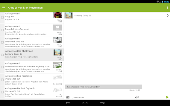 EBay Kleinanzeigen For Germany APK screenshot thumbnail 10