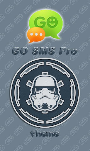GO SMS Pro Stormtrooper Theme