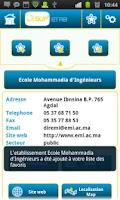 Screenshot of Etablissements Sup au Maroc