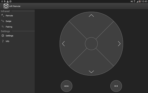 AIR Remote PRO for Apple TV - screenshot