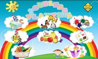 Screenshot of Toddlers Flashcard Playtime