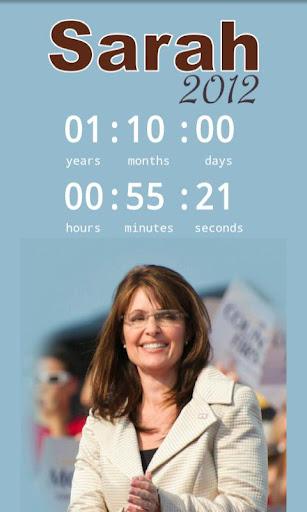 【免費生活App】Elect Sarah Palin Countdown-APP點子