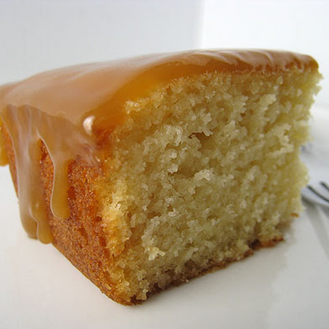 Caramel Cake (Gourmet, January 2008)