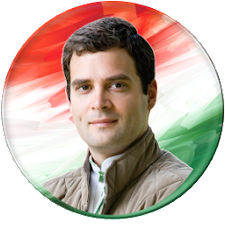 campaign button - Rahul Gandhi